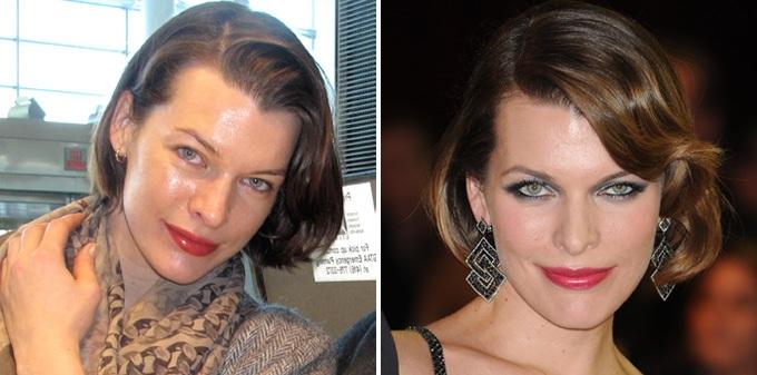 Известные люди до и после фотошопа (16 фото)