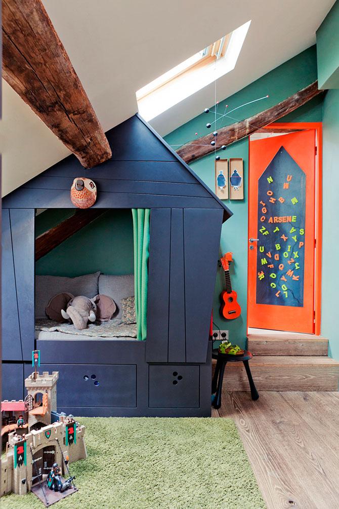 Kinderzimmer unterm dach gestalten
