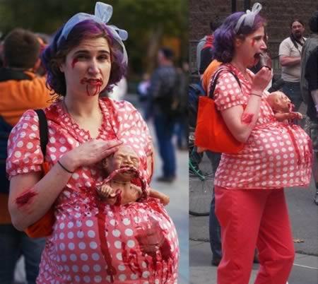 12 самых неадекватных костюмов для беременных