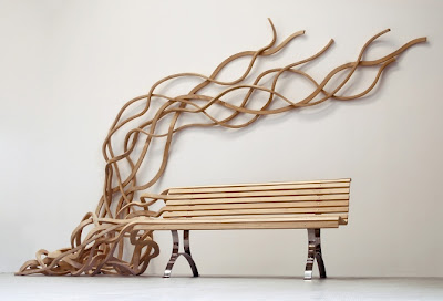15 креативных скамеек и прикольных дизайнов скамеек