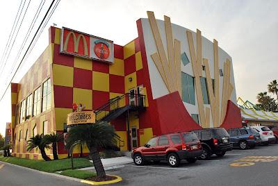 35 необычных ресторанов МакДональдс со всего мира