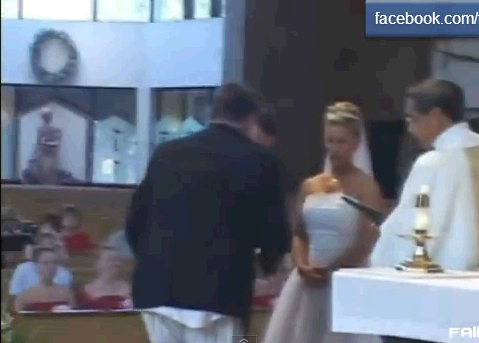 Свадебные курьезы 2012
