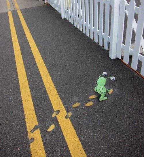 Слагго – забавное существо, живущее на улицах города Энн-Арбор