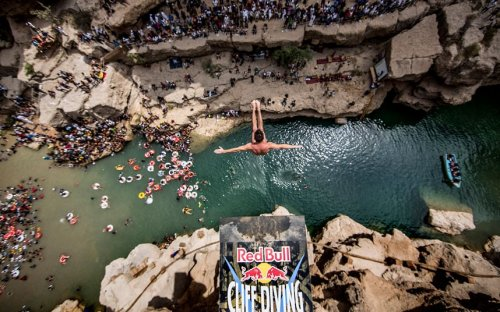 ������������ �� ������������� ������� Red Bull Cliff Diving 2012