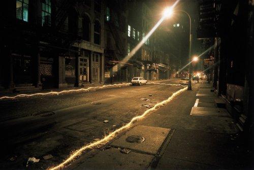 Необыкновенная иллюминация улиц Нью-Йорка в фотографиях Эрика Сталлера