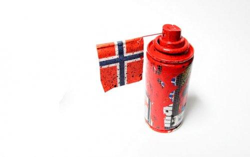Street-art норвежского художника Pøbel