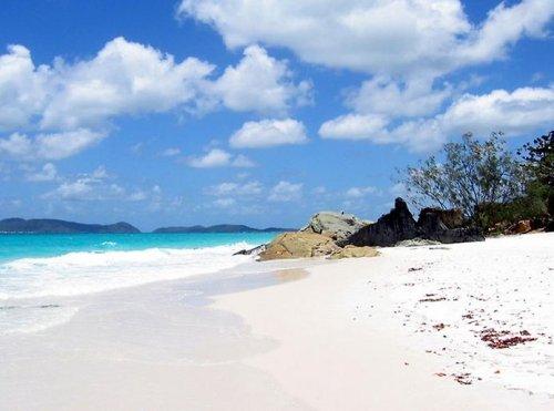 """Австралийский пляж """"Белый рай"""" – один из чистейших пляжей на планете"""