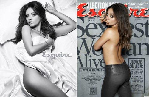 Esquire: Мила Кунис – самая сексуальная в мире