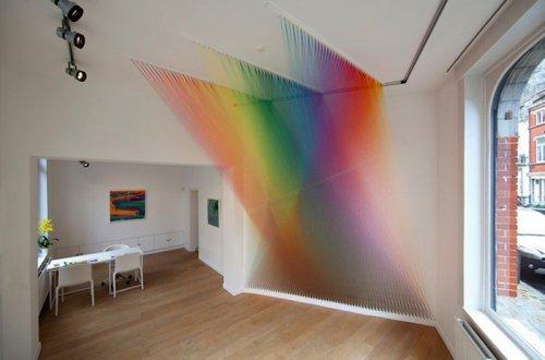 Восхитительные радужные композиции Гэбриэла Дауи