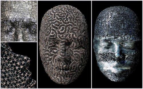 Удивительные маски, созданные Дэйлом Даннингом