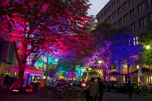 Удивительная иллюминация берлинских улиц