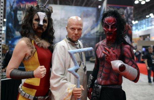 Образы участников New York Comic Con 2012 (25 шт)