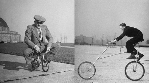 Велосипеды необычных конструкций из прошлого