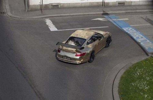 Автомобиль-самоделка Porsche 911