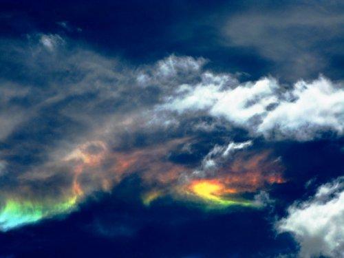 Удивительные в своей необычности облака