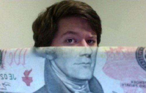 Лица с денежных купюр