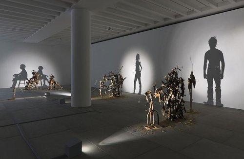 Удивительные скульптуры британских художников Сью Вебстер и Тима Нобла