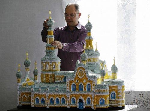 Бумажные модели соборов, сделанные талантливым Сергеем Тарасовым