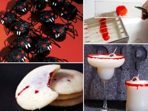 Жуткие и вкусные блюда на Halloween