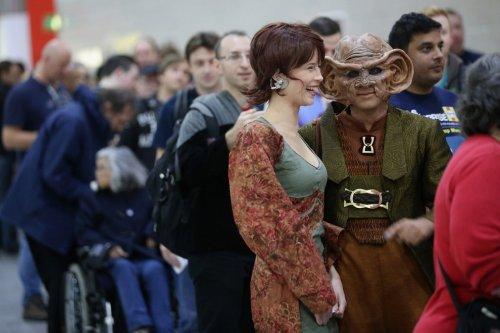 """В Лондоне впервые прошел съезд любителей сериала """"Star Trek"""""""