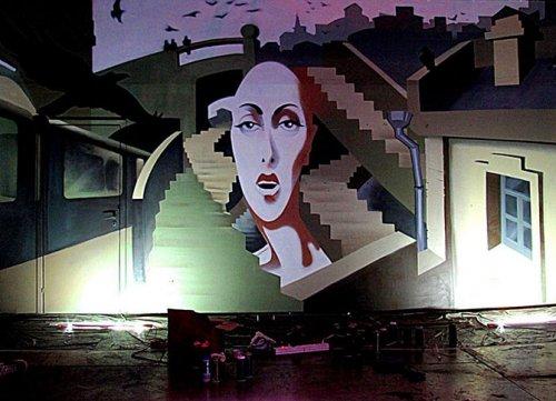 Лучшие работы стрит-арта, представленные на фестивале MOST 2012