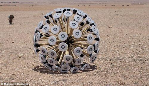 Необычный шар, обезвреживающий мины