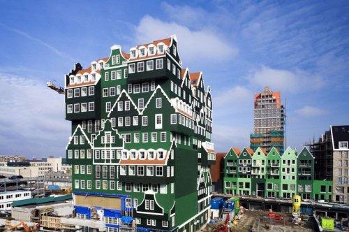 Отель «Иннтел» в городе Зандам (Zaandam), Нидерланды