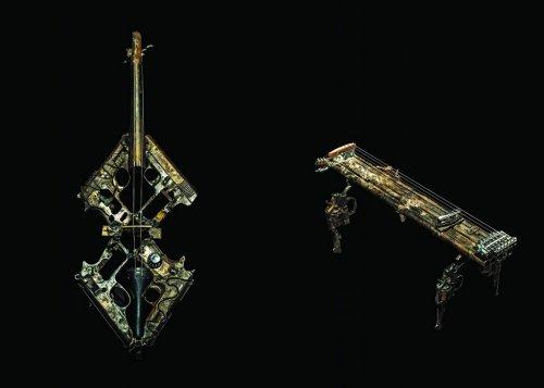 Перевоплощение оружия в музыкальные инструменты