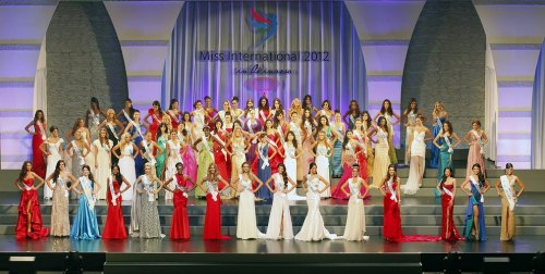 25-летняя японка стала Miss International 2012