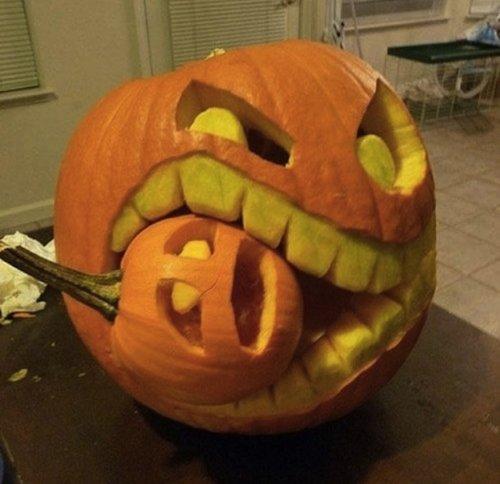 23 непристойных тыквы на Хэллоуин