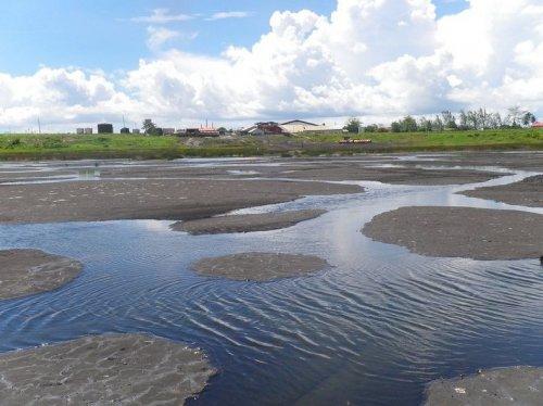 Питч-Лейк (Pitch Lake), Тринидад - Крупнейшее месторождение природного асфальта