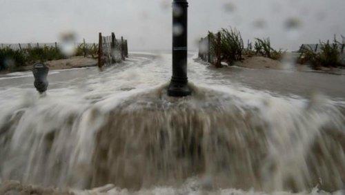 "Над США бушует ураган ""Сэнди"""