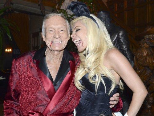 Хэллоуинская вечеринка от основателя Playboy Хью Хефнера