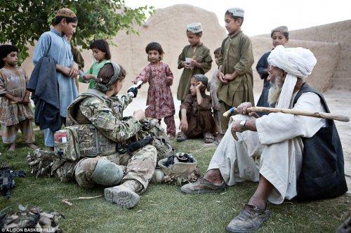Как служат в Афганистане британские женщины-военнослужащие