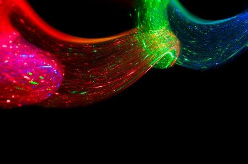 Экспериментальные световые фотографии от Кима Пиммель