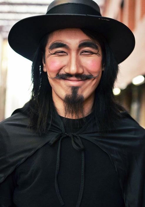 Лучшие костюмы Хэллоуина 2012
