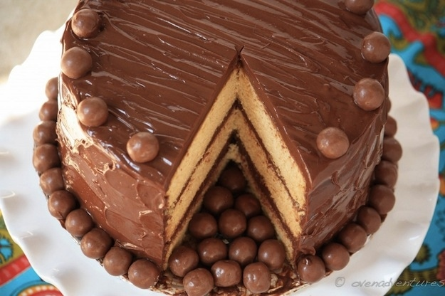 Шоколадные торты своими руками фото