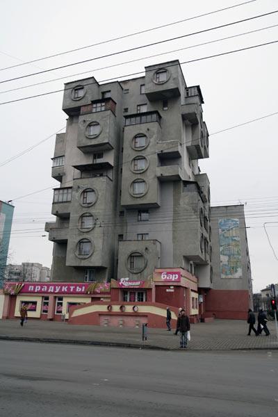 Дом, являющийся одним из символов Бобруйска