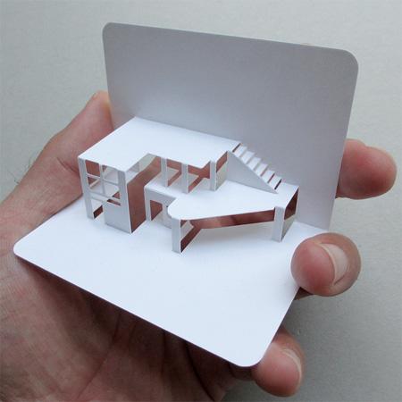 Уникальные 3D-визитки, созданные дизайнером Elod Beregszaszi