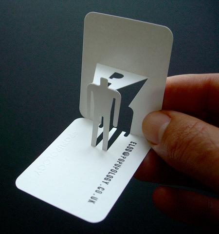Объемные визитки