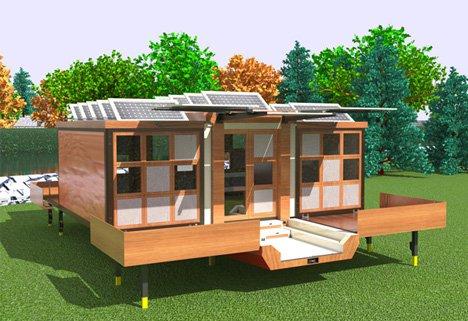 11 клёвых концептов домов на колёсах