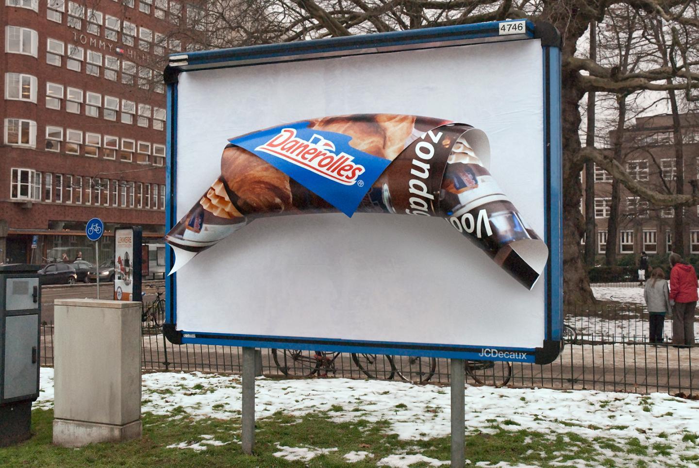 Как самому сделать наружную рекламу
