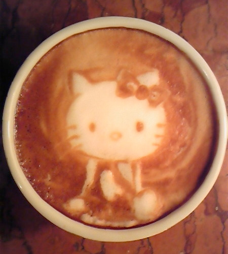 Креативный латте-арт: кофейные фантазии, созданные японским бариста Казуки Ямамото