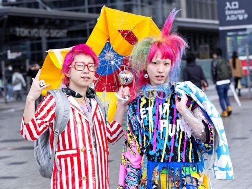 Японские модники и модницы (35 фото)