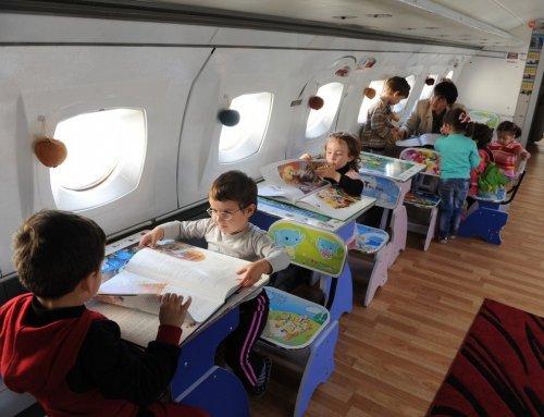 Детский садик для будущих летчиков