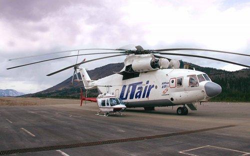 Ми-26 – крупнейший в мире вертолет