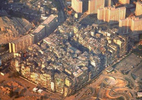 Цзюлунский Огороженный Город: ужасы перенаселения
