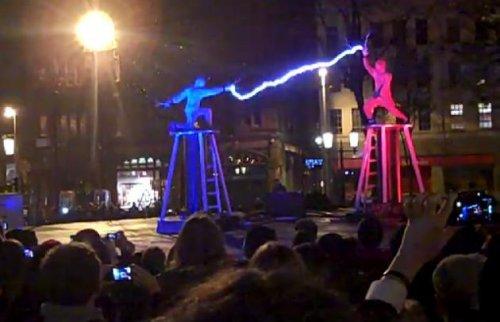 Электрические бои на фестивале в Белфаст