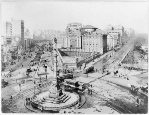 Нью-Йорк в прошлом и в настоящем