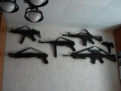 Ружьё на стене